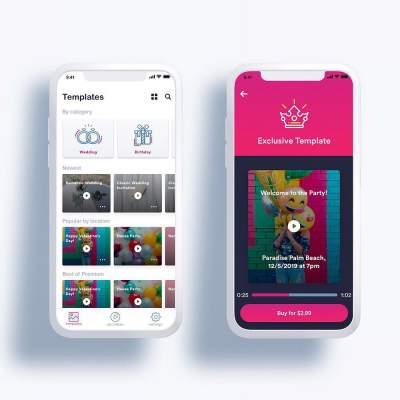 Video Invitation Maker App