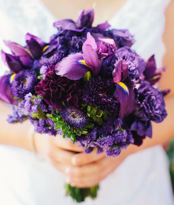 wedding-purple-flowers