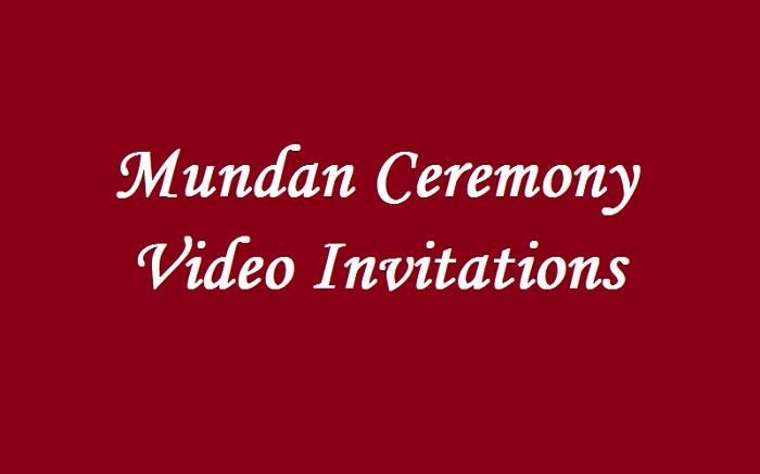 mundan ceremony