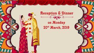 Rajasthani wedding invitations