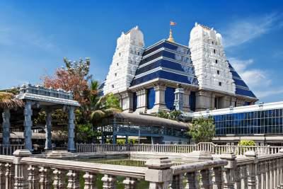 Iskon - temple of krishna