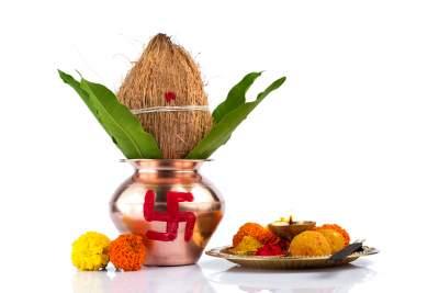 Housewarming and vasthu puja invitations